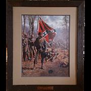 "Don Troiani Print ""Confederate Standard Bearer"""