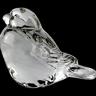 Fenton Crystal Bird
