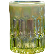 Gibson Vaseline Opalescent Glass Toothpick