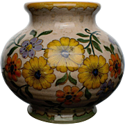 """Karo"" Vase from the Royal Gouda Pottery in Holland"
