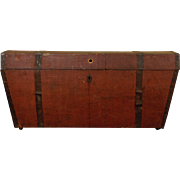 Antique Immigrants Trunk