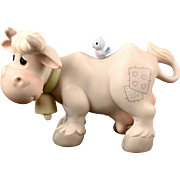 "Precious Moments ""Cow"" for the Nativity Scene"