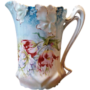 RS Prussia Lily Mold Variant Milk Pitcher