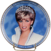 "Franklin Mint Collectors Plate ""Diana, Princess of Wales 1961 - 1997"""