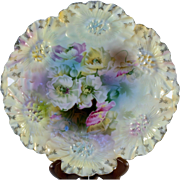 RS Prussia Sunflower Mold Cake Plate