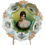 RS Prussia Lily Mold with Madame Recamier