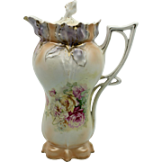 RS Prussia Iris Mold Chocolate Pot
