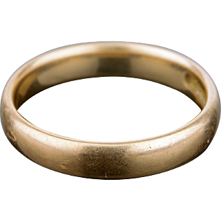 Solid 14 K Gold Ring
