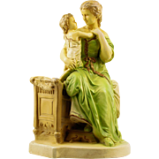 Statue of Mother with Child