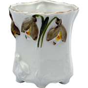 RS Prussia Jonquil Mold Toothpick Holder