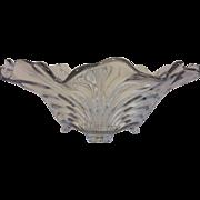 """Vintage Mikassa """"Belle Epoque"""" Centerpiece Crystal Bowl"""