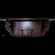 Walnut 19th Century Clock Shelf