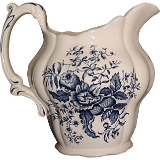 "Booths England ""Peony"" Pattern Pitcher"