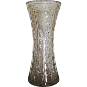 American Brilliant Period Cut Glass Vase