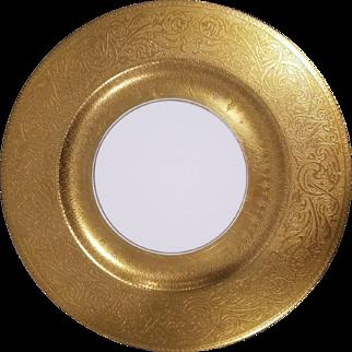 18 Haviland Heavy Gold Encrusted Theadore Dinner Plates