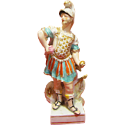 C1775 Derby Porcelain Figure of Mars