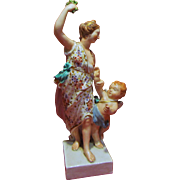C1775 Derby Porcelain Figure of Venus and Cupid