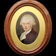Georgian Portrait Oil Painting of a Gentleman