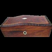 Stunning Little William 1V (c1830) English Box