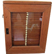 Victorian Microscope Slide Collecting Cabinet