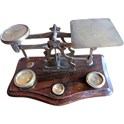 Set of Edwardian English Desk Scales