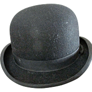 Finest Quality Vintage Lock & Co London Bowler Hat US Size 7 3/8