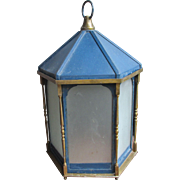 Large Victorian Gas Lamp