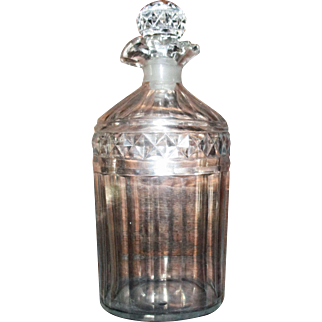 Fine English Georgion (C1790-1810) Cut Glass Decanter