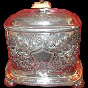 Fine Quality Silver Plate Victorian English Box
