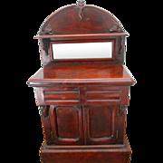 Charming Mid Victorian Miniature Chiffonier Apprentice Piece