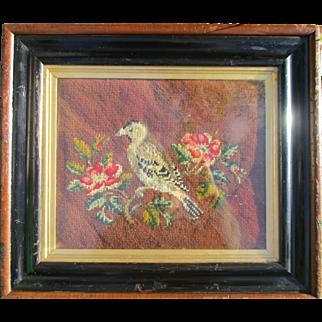 Victorian Bird Woolwork