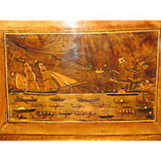 Unusual C1880 Trinity House Sailors Box  (Marine folk art)