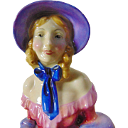 Early Royal Doulton 'A Victorian Lady' HN 728 Figurine - 1935
