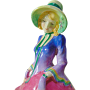 Very Early Royal Doulton 'Pantalettes' HN 1412 Figurine - 1932