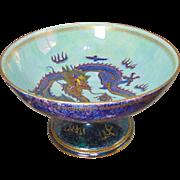 Large Wedgwood Fairyland Lustre Chalice Bowl - Designed By Daisy Makeig-Jones - Circa 1920