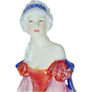 Rare Vintage Royal Doulton VERONICA HN1943 Figurine – Dated 1942