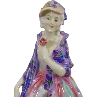 Early Royal Doulton Phyllis HN1420 Figurine - Dated 1932