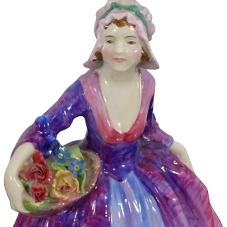 Early 1930's Royal Doulton Janet HN1538 Figurine