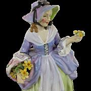 1939 Royal Doulton 'Spring Flowers' HN1807 Vintage Figurine