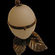 French White Opaline Egg Box