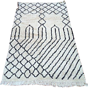 Nursery rug Authentic traditional Handmade Beni Ourain Moroccan rug 5x8 Traditional Rug berber teppish Morocco carpet Beni ourain