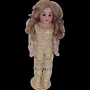 """1890's  18"""" Kestner Doll - #154 - Kid Body"""