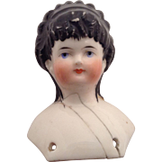 """SWEET 1860's """"Spillcurl"""" China Head Only"""