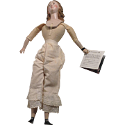 Creche Figure Head - Humpty Dumpty Doll Hospital Body, 1930's-1940's