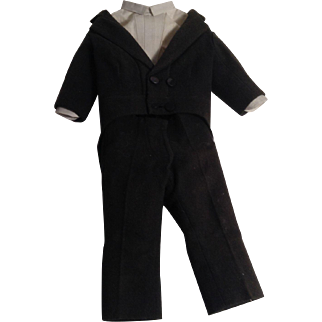 Early 1900's  Gentleman's Tuxedo For Your Favorite Man Doll