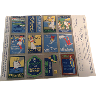 1920's Stamps - The Chicago Tribune