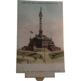 Unusual Early 1900's Cleveland, Ohio Postcard