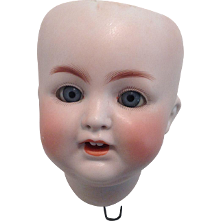 ABG  1361 Bisque Baby Head Only