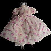 "VERY NICE Early 1900's 6"" China Head Doll"