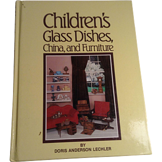 Book - Children's Glass Dishes, China, and Furniture - Lechler